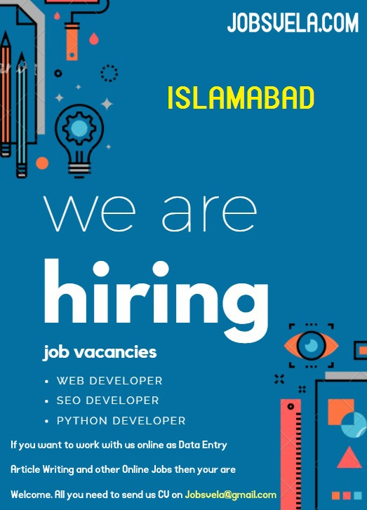 Online Jobs in Islamabad – Best Online Jobz in Pakistan 2020